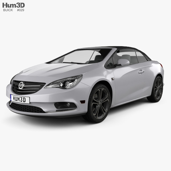 Buick Cascada 2016 3D model
