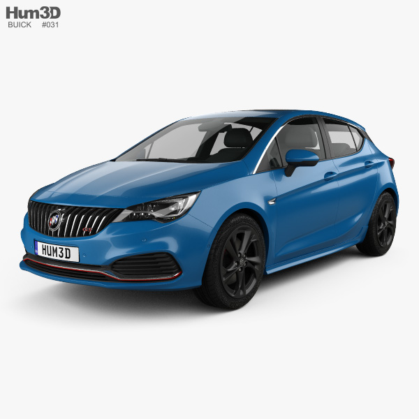 3D model of Buick Verano GS (CN) 2015