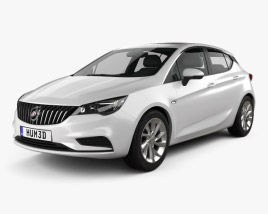 3D model of Buick Verano (CN) hatchback 2015