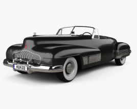 3D model of Buick Y-Job 1938
