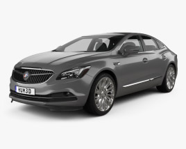 3D model of Buick LaCrosse (Allure) 2017