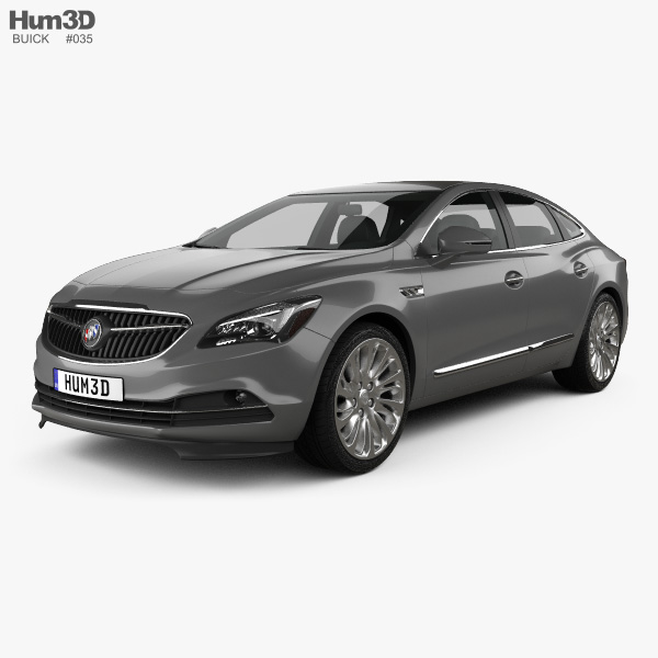 3D model of Buick LaCrosse (Allure) 2017