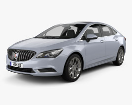 3D model of Buick Verano (CN) 2015
