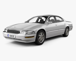 3D model of Buick Park Avenue 1996
