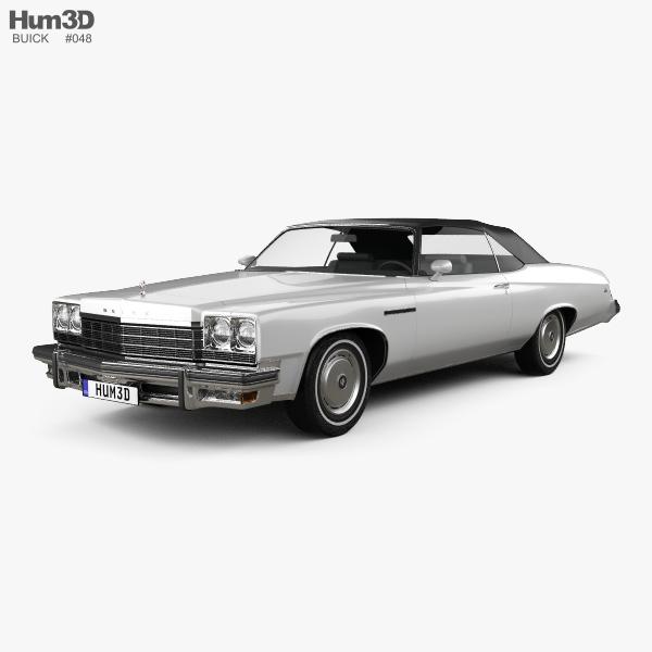 Buick LeSabre convertible 1975 3D model