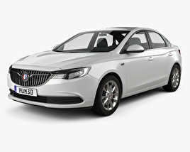 3D model of Buick Excelle GT 2017