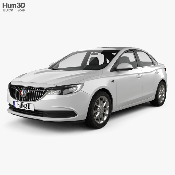 Buick Excelle GT 2017 3D model