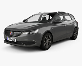 3D model of Buick Excelle GX 2017