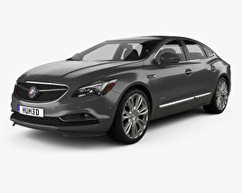 3D model of Buick LaCrosse Avenir 2018