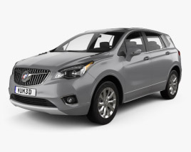 3D model of Buick Envision 2019
