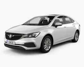 Buick Verano CN-spec 2018 3D model