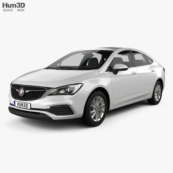 3D model of Buick Verano CN-spec 2018