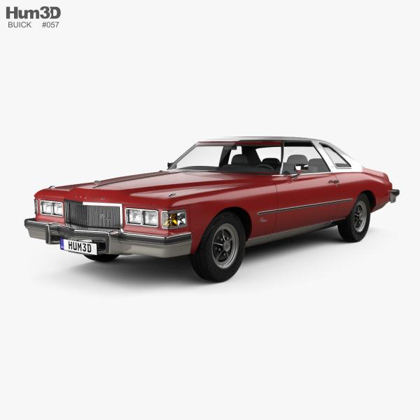 Buick Riviera GS 1975 3D model