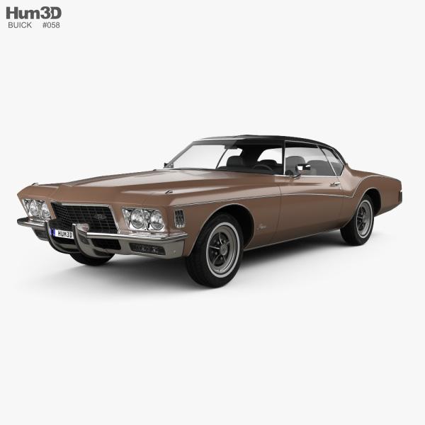 Buick Riviera 1972 3D model
