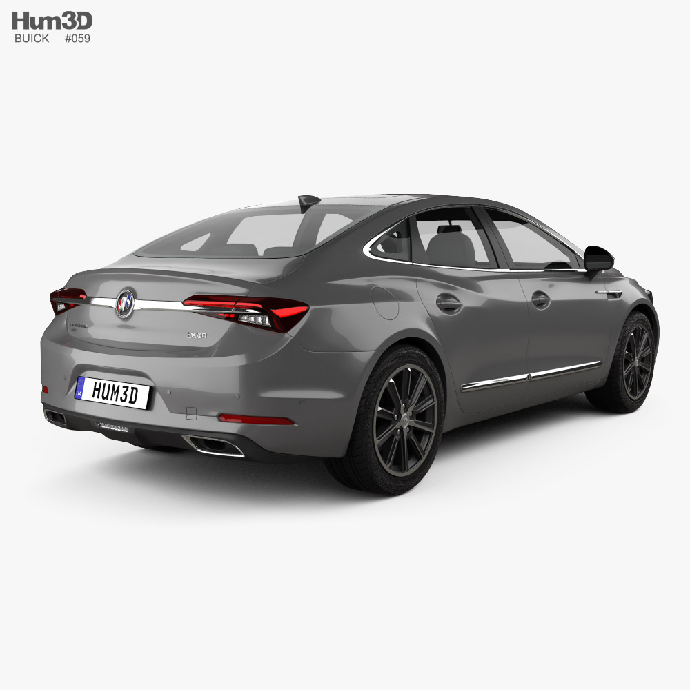Buick LaCrosse CN-spec 2019 3d model