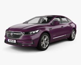 3D model of Buick LaCrosse Avenir CN-spec 2019