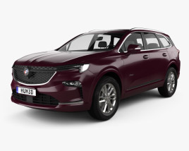 3D model of Buick Enclave Avenir CN-spec 2019