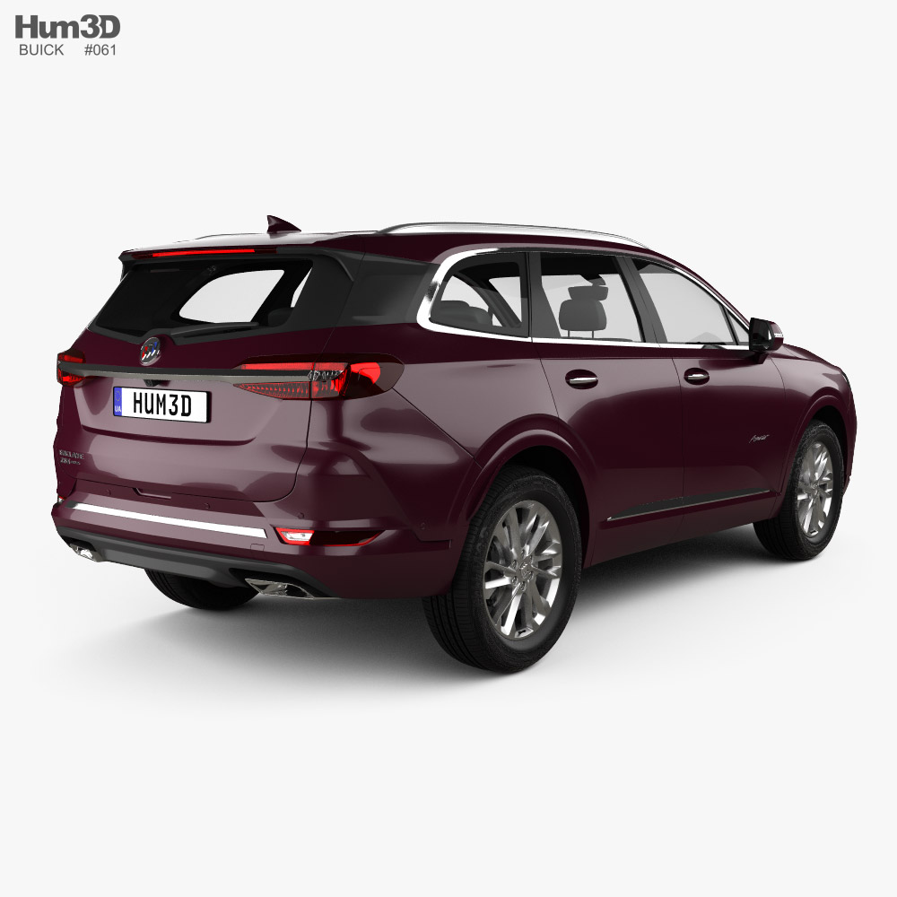 Buick Enclave Avenir CN-spec 2019 3d model