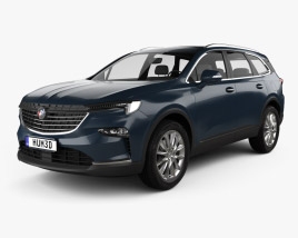 3D model of Buick Enclave CN-spec 2019