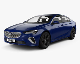 3D model of Buick Regal GS CN-spec 2020