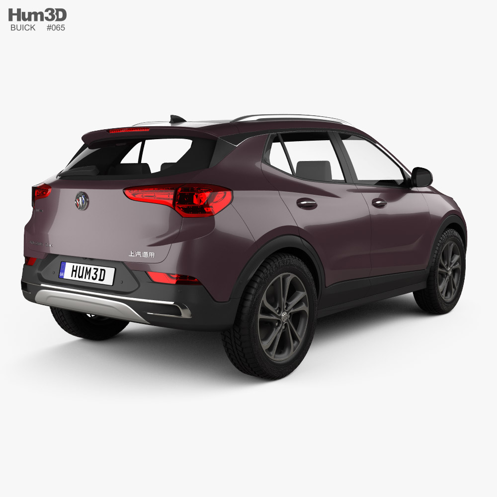Buick Encore GX 2020 3d model