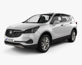 3D model of Buick Envision 2020