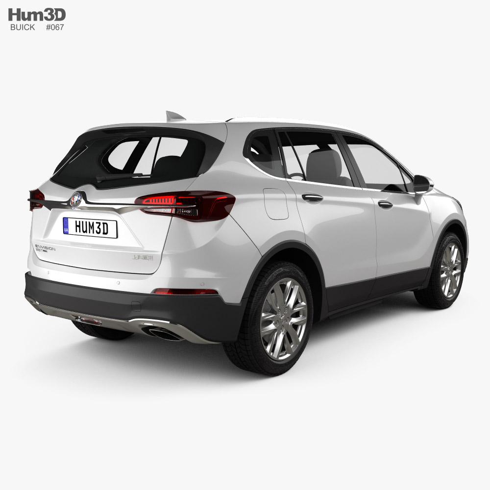Buick Envision 2020 3d model