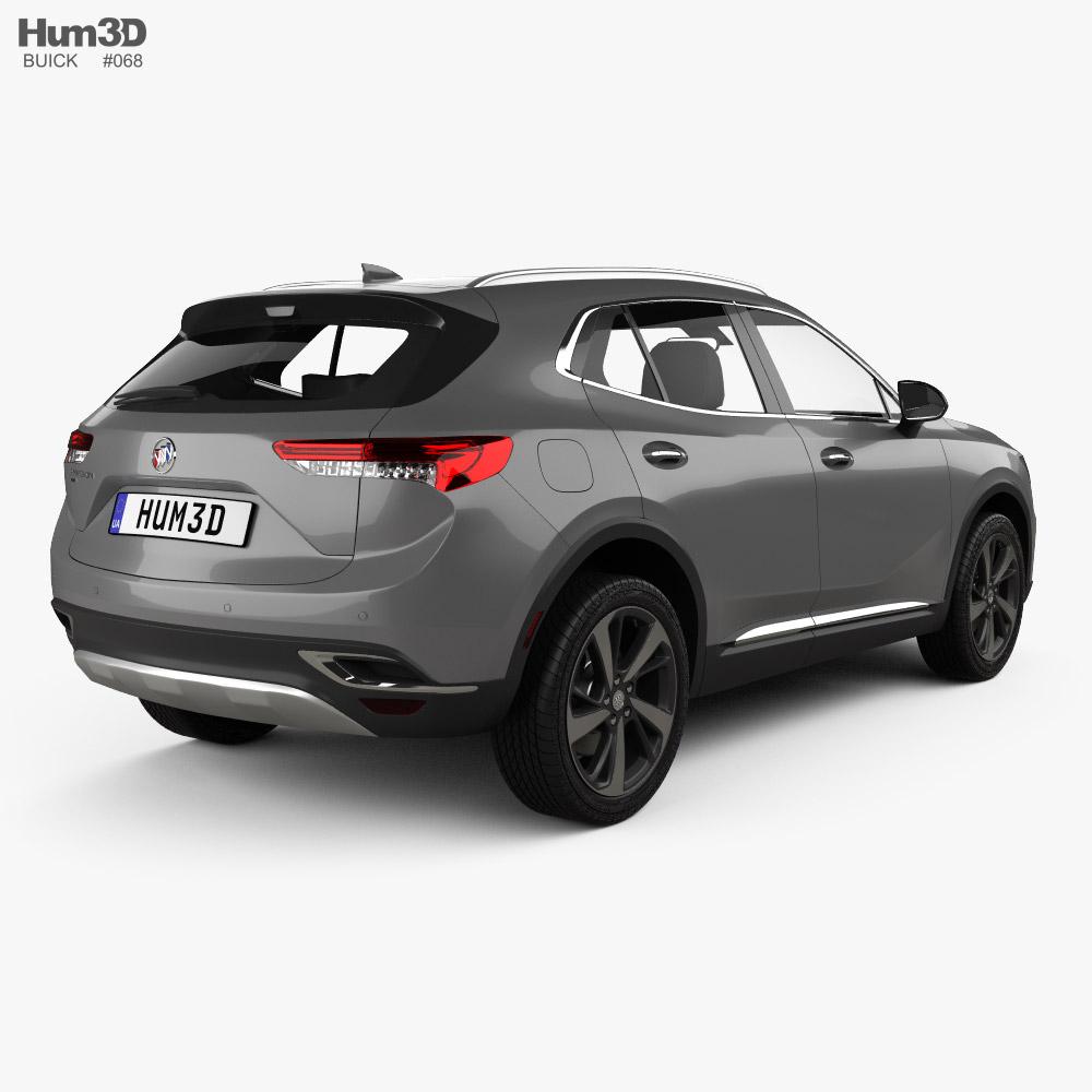 Buick Envision 2021 3d model
