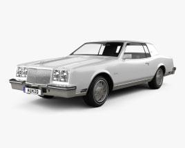 Buick Riviera 1980 3D model
