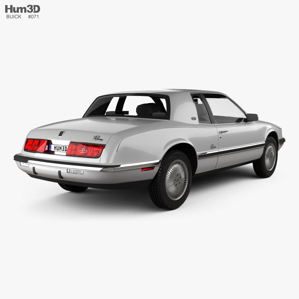Buick Riviera 1989 3d model