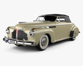 Buick Roadmaster convertible 1941 3D model