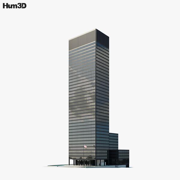 Seagram Building 3D model