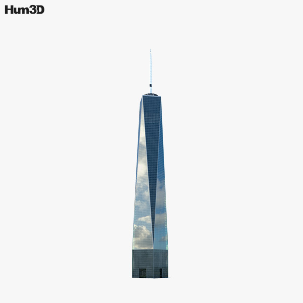 One World Trade Center (Freedom Tower) 3D model
