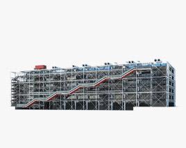 3D model of Centre Georges Pompidou