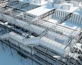 Centre Georges Pompidou 3d model