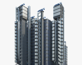 Lloyd's building 3D model
