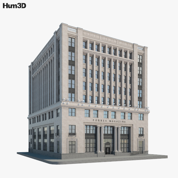 Forbes Building 3D model