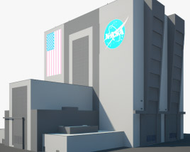 3D model of NASA Vehicle Assembly Building