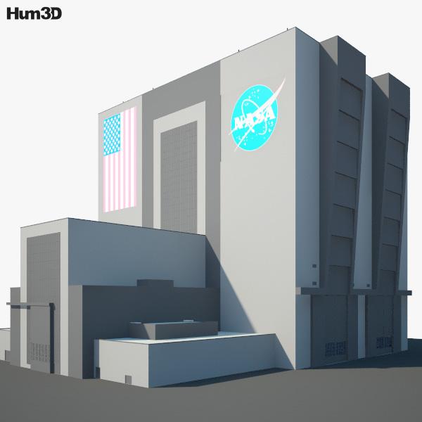 NASA Vehicle Assembly Building 3D model