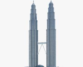 3D model of Petronas Twin Towers