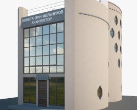 3D model of Melnikov House