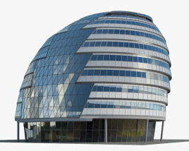 3D model of City Hall London