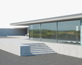 3D model of Barcelona Pavilion