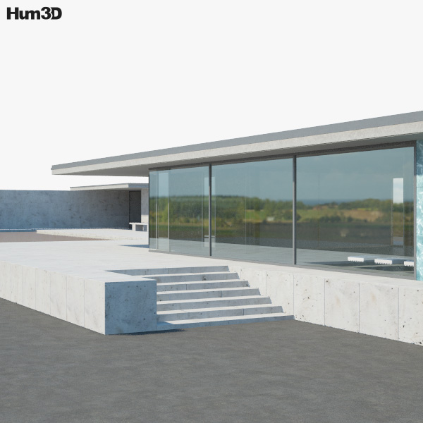 3D model of Barcelona Pavilion