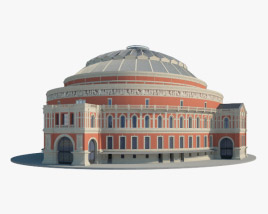 3D model of Royal Albert Hall