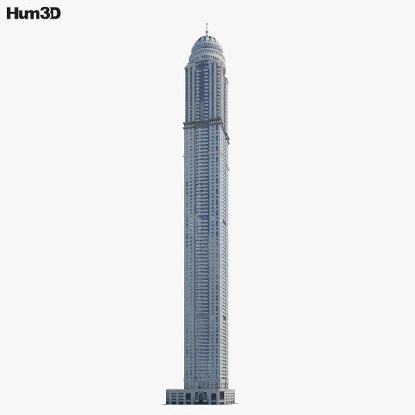 Princess Tower 3D model