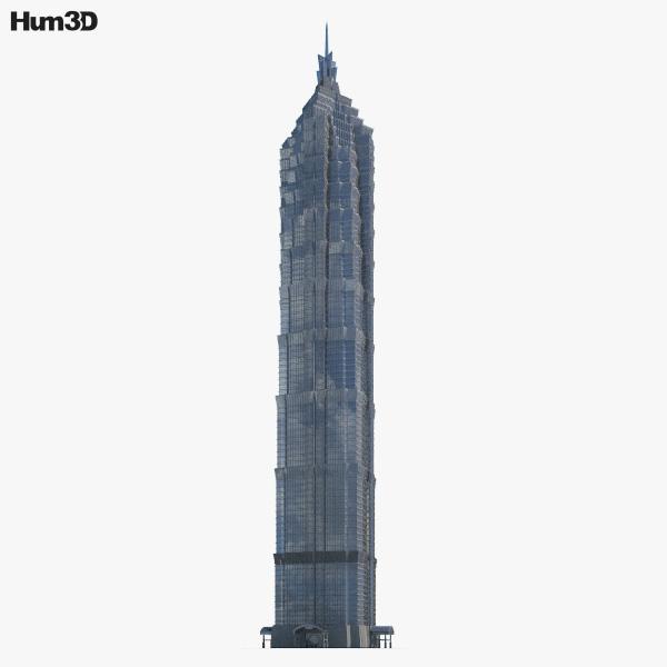 3D model of Jin Mao Tower