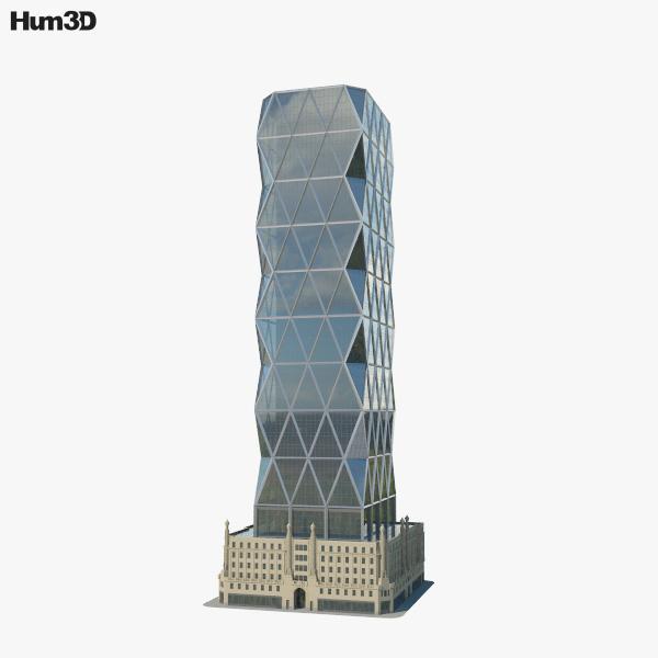 3D model of Hearst Tower