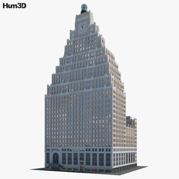 1501 Broadway 3D model