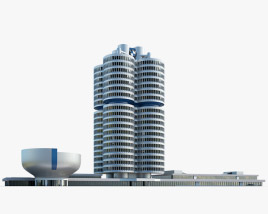 3D model of BMW Headquarters